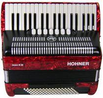 Hohner Bravo III 96 Red