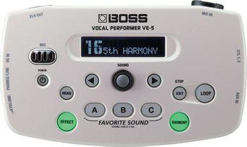 Boss VE-5 WH